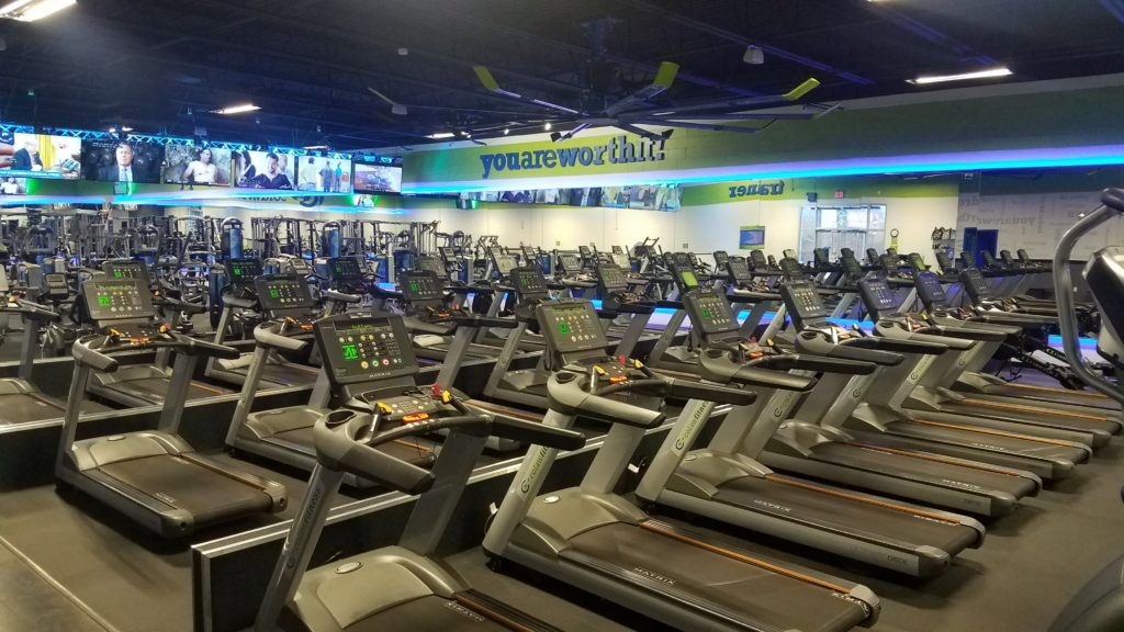fitness center in arlington