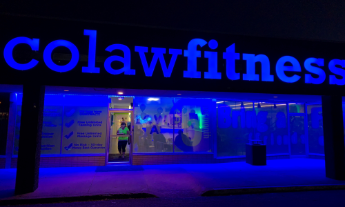 Bartlesville Gym Colaw Fitness Outside 2