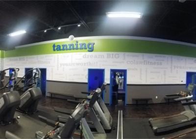 Colaw Fitness Joplin Tanning Area