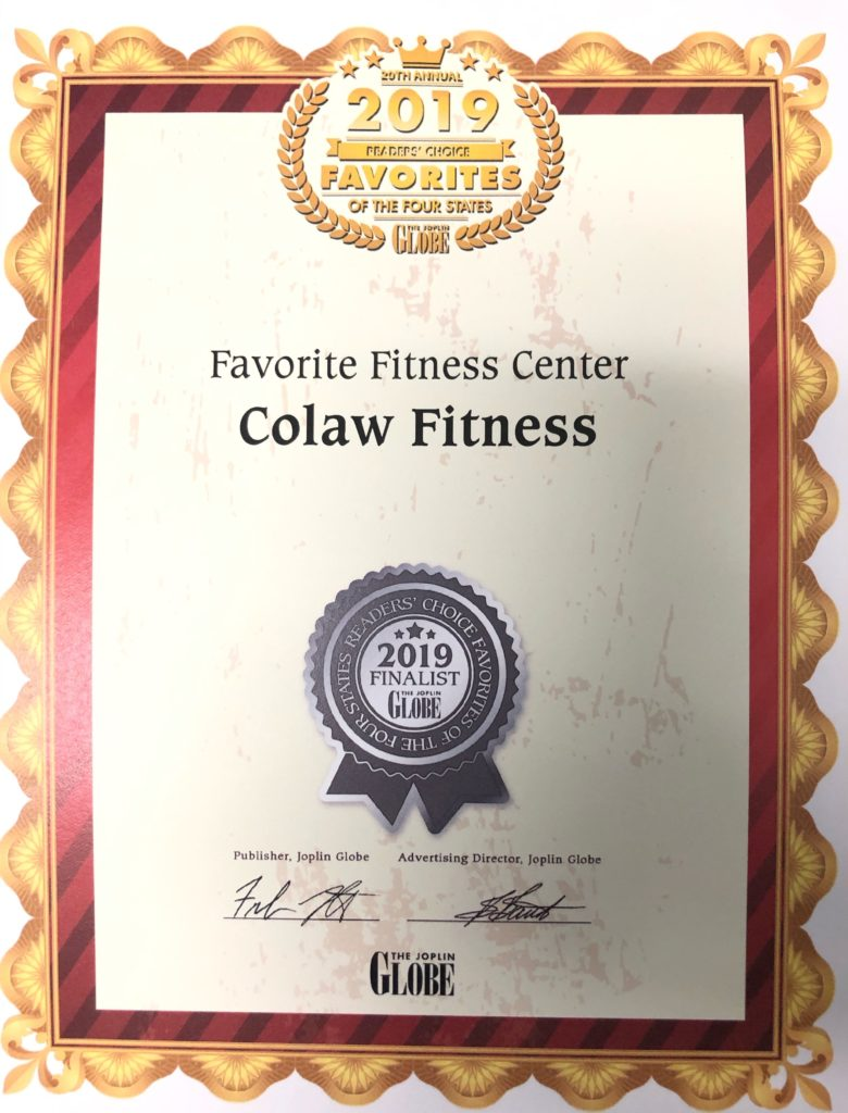 Favorite Fitness Center 2019