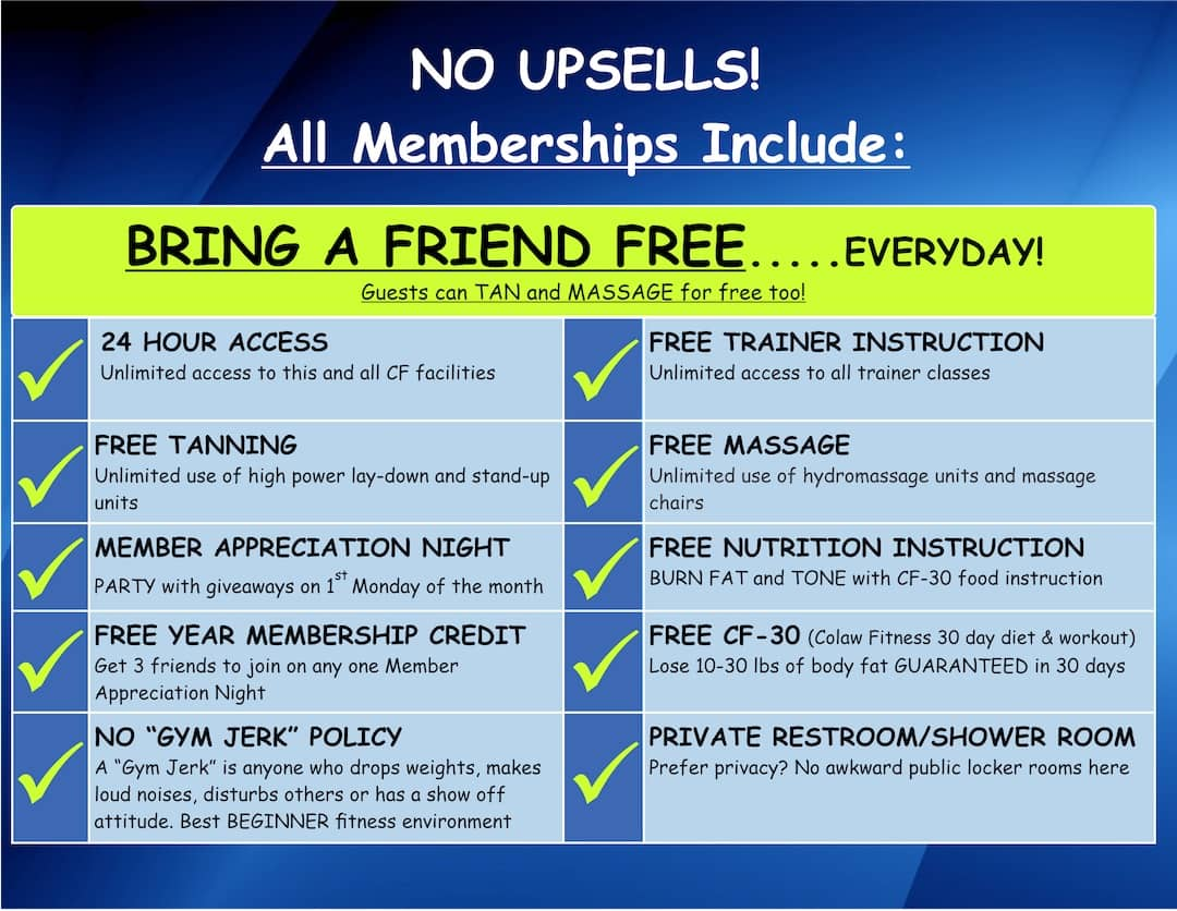 Membership Options - 30 Day Money Back Guarantee