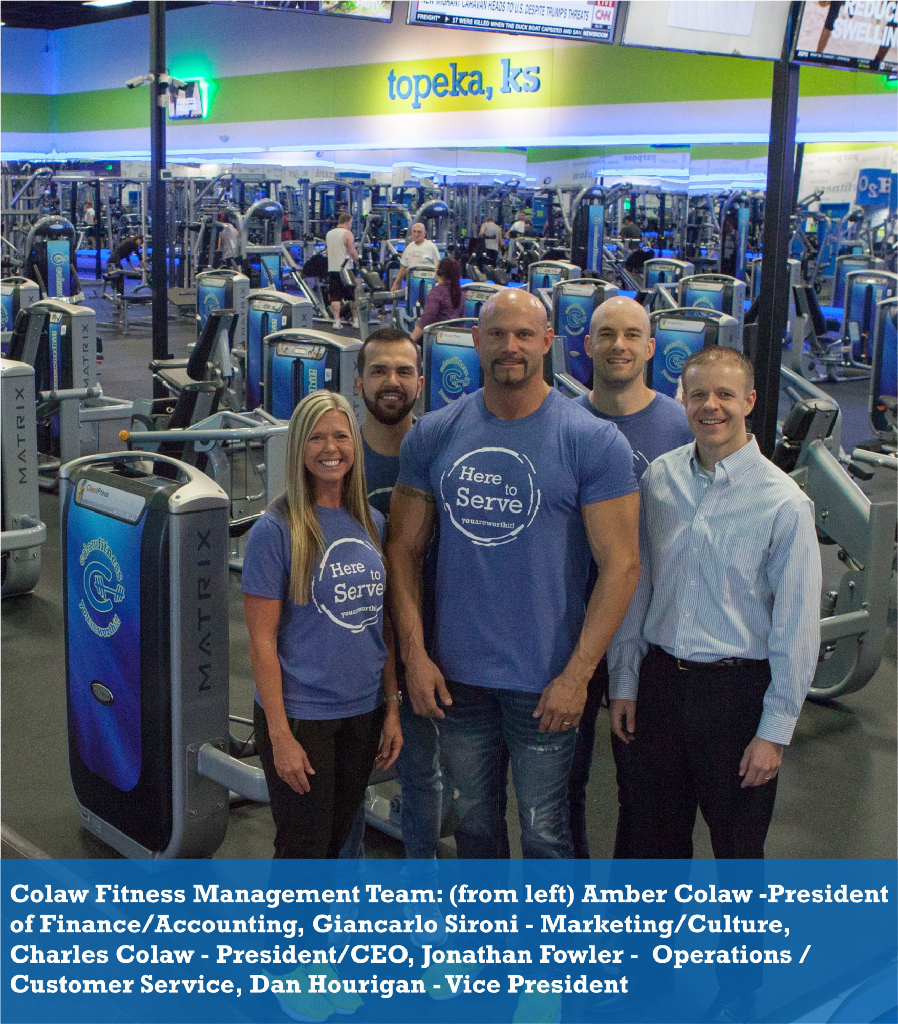Colaw Fitness - Management Team
