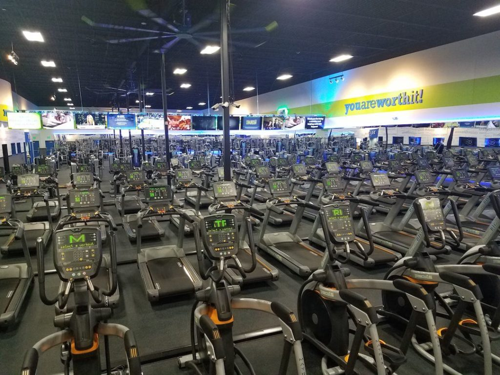 Oklahoma City Fitness Centers