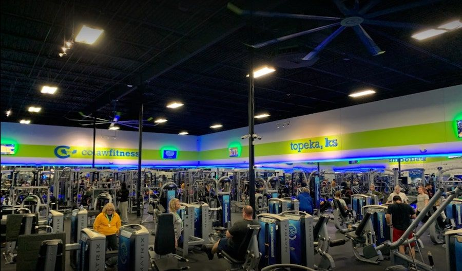 Most affordable gym in Topeka