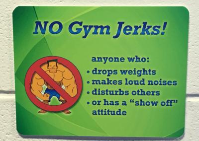 No Gym Jerks